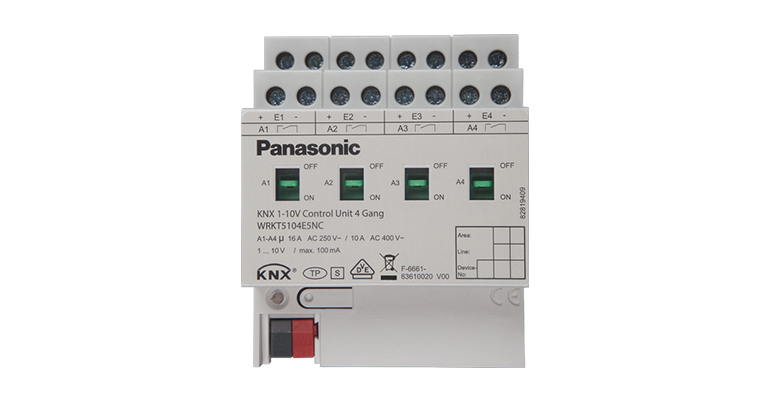 KNX 1-10V Control Unit 4 CH