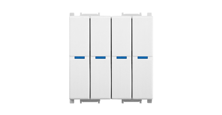 KNX Modular Switch 4 Gang-2M