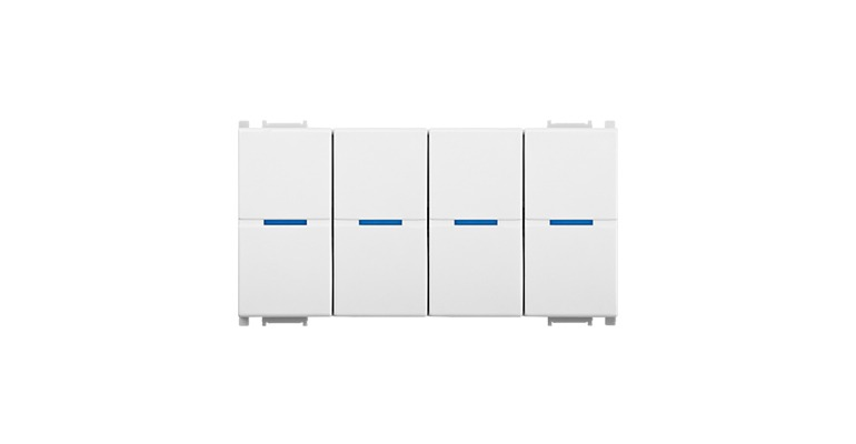KNX Modular Switch 4 Gang-4M