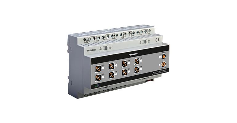 KNX Lighting 8 CH On – Off /Shutters 4 Motors