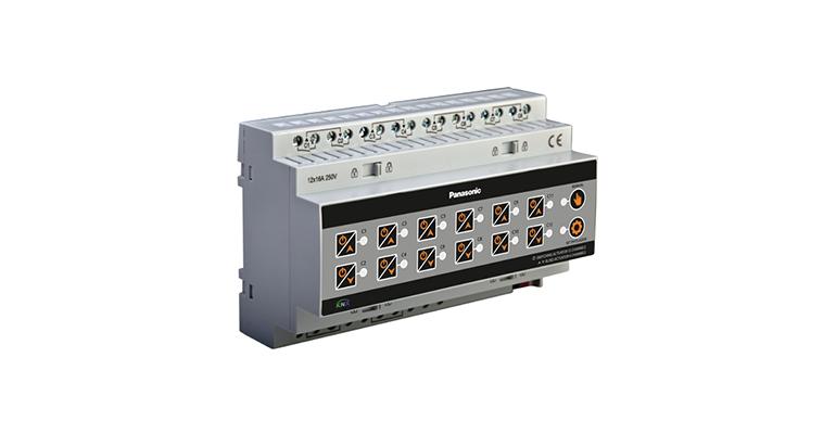 KNX Lighting 12 CH On – Off / Shutters 6 Motors