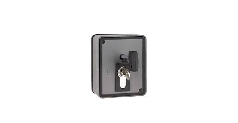Surface Mount Key Switch Black
